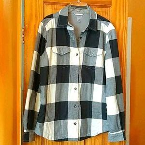 Cahartt Fleece Lined Cold Weather Plaid Shirt